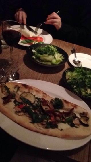 Wonderful meal in London